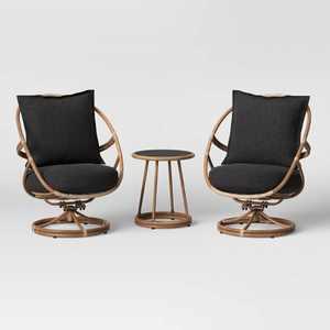 Skylark 3pc Cushioned Woven Rocking Patio Seating Set - Opalhouse