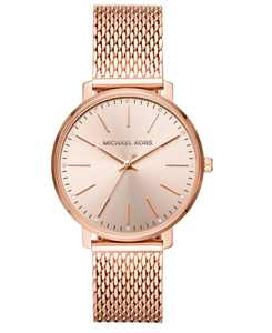 Women's Pyper Rose Gold-Tone Stainless Steel Mesh Bracelet Watch 38mm