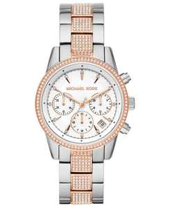 Women's Ritz Two-Tone Stainless Steel & Crystal-Accent Bracelet Watch 37mm