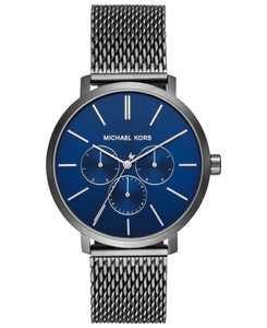 Men's Blake Gunmetal Stainless Steel Mesh Bracelet Watch 42mm