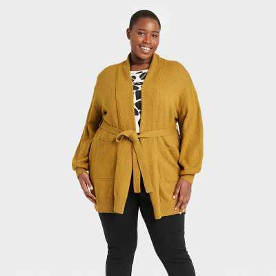 Women's Self Tie Shawl Cardigan - Who What Wear