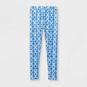 Girls' Tie-Dye Leggings - Cat & Jack Blue