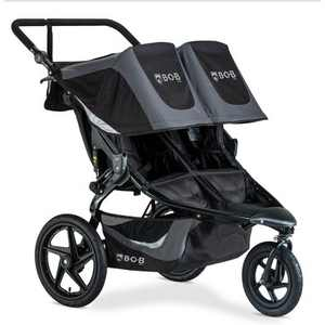 BOB Gear Revolution Flex 3.0 Duallie Jogging Stroller - Graphite Black