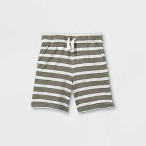 Toddler Boys' Striped French Terry Pull-On Shorts - Cat & Jack