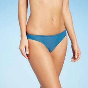 Juniors' Cheeky Bikini Bottom - Xhilaration Blue