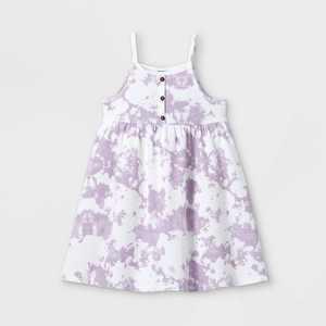 Toddler Girls' Rib Henley Tank Dress - art class