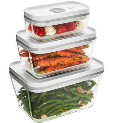 ZWILLING Fresh & Save 3-pc Glass Vacuum Box Set - Assorted Sizes