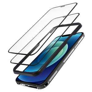 Insten 2-Pack Tempered Glass Ultra-Clear Anti-Scratch Screen Protector Film Cover with Alignment Frame For iPhone 12 mini (5.4 inch)