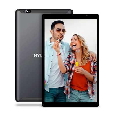 """Hyundai HyTab Plus 10WB1, 10.1"""" Tablet IPS, WiFi, Quad-Core Processor, 2GB RAM, 32GB Storage, Android 10 - Black"""