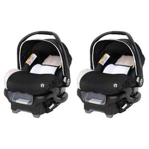 BabyTrend Ally 35 Unisex Newborn Baby Infant Car Seat Carrier Travel System with Extra Cozy Cover for Babies Up to 35 Pounds (2 Pack)