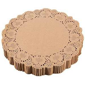 Juvale 250-Pack Paper Doilies, Round Placemats, 12 In