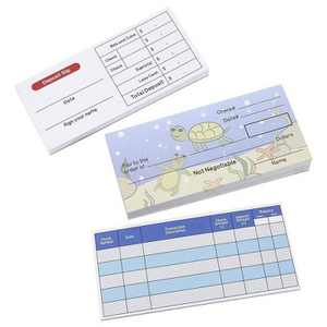 Play Check Set - Educational Toy for Kids - Promotes Financial Literacy, Checkbook, Deposit Slip, Check Register, 150 Sheets Total, Underwater Theme
