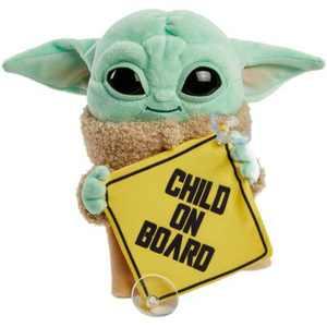 Star Wars The Mandalorian: The Child On Board Plush Sign