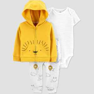 Baby Boys' Lion Top & Bottom Set - Just One You made by carter's Gold
