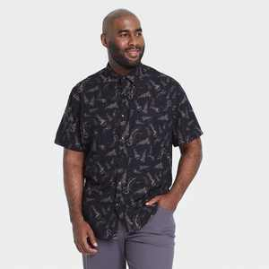 Men's Adventure Button-Up T-Shirt - All in Motion
