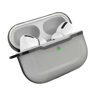 Insten Transparent Soft Silicone Protective Skin Case Cover For AirPods Pro, Clear Black