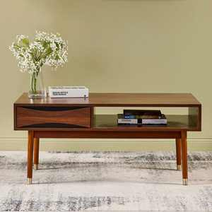 Dawson Coffee Table Walnut - Versanora