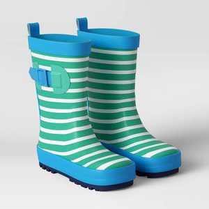 Kids' Garden Rain Boot - Cabana Stripe - Sun Squad