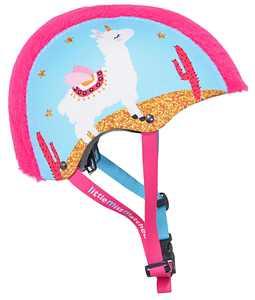 LittleMissMatched Furrr-tastic Llamacorn Multi-Sport Child 5+ Helmet, Pink