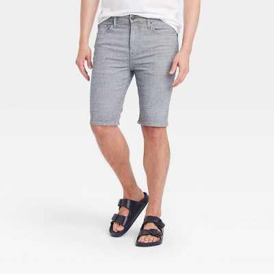"Men's 10.5"" Slim Fit Jean Shorts - Goodfellow & Co"
