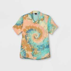 Boys' Challis Short Sleeve Button-Down Shirt - art class