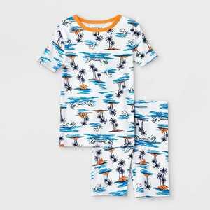 Boys' 2pc Pajama Set - Cat & Jack Blue