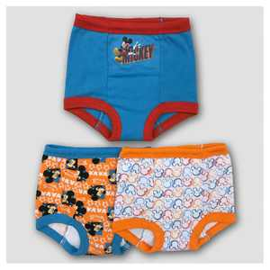 Toddler 3pk Mickey Mouse Training Pant Brief