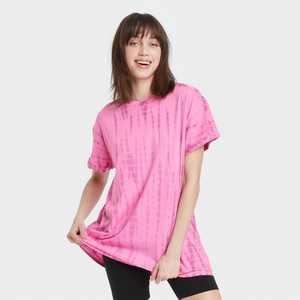 Women's Tie-Dye Oversized Lounge T-Shirt - Colsie