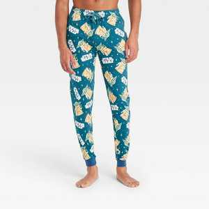 Men's Star Wars: The Mandalorian Pajama Pants - Green