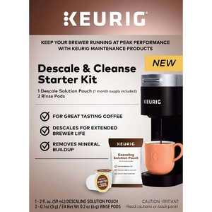 Keurig Descale and Cleanse Starter Kit