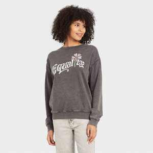 Women's Equality Graphic Sweatshirt - Gray