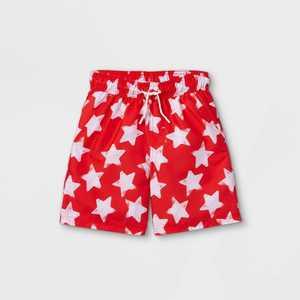 Boys' Star Print Swim Trunks - Cat & Jack Red