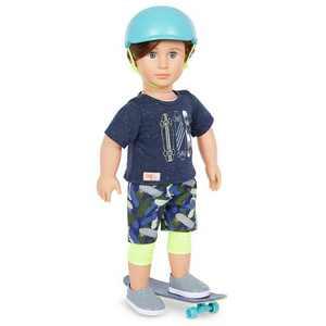 """Our Generation Theodore 18"""" Skateboarder Boy Doll"""