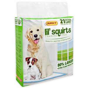 Ruffin' It Lil Squirts Dog Pads - XL - 21ct