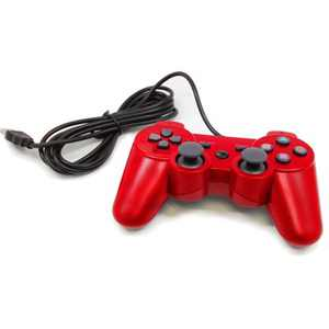 Gaming controller for PlayStation 3 in Blue