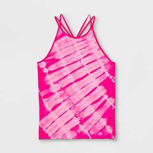 Girls' Seamless Racerback Tank Top - All in Motion