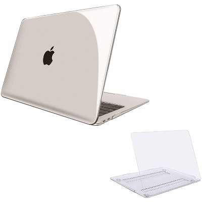 """Dartwood 13"""" Macbook Air Case - Lightweight, Clear and Hard Case for A2337(M1)/A2179/A1932 (2018 - 2020) Macbook Air 13 Inch Models"""
