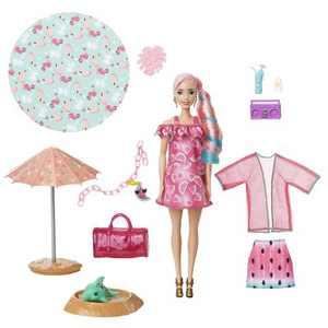 Barbie Ultimate Color Reveal Foam Doll - Watermelon Scent