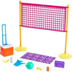 Barbie Loves the Ocean Story Beach Volleyball Playset