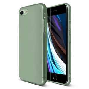 Insten Translucent Matte Case For iPhone, Semi-Transparent Smooth Touch Soft TPU Thin Cover