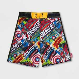 Boys' Marvel Avengers Swim Trunks - Disney Store