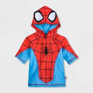 Boys' Marvel Spider-Man Rash Guard - Red - Disney Store