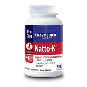 Enzymedica Dietary Supplements Natto-K Capsule 90ct