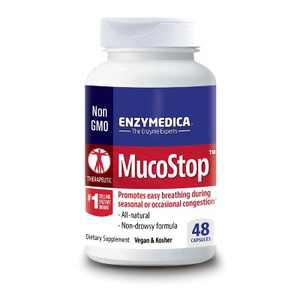 Enzymedica Dietary Supplements Mucostop Capsule 48ct