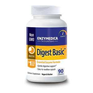 Enzymedica Digestive Health Treatments Digest Basic Capsule 90ct