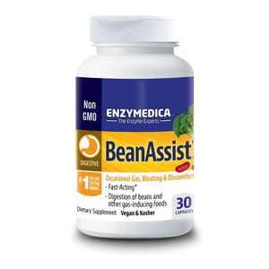 Enzymedica Digestive Health Treatments Beanassist Capsule 30ct
