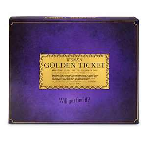 The Golden Ticket Game Willy Wonka and the Chocolate Factory Board Game