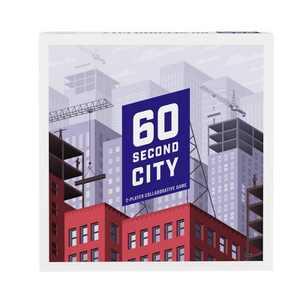 60 Second City Collaborative Strategy Board Game