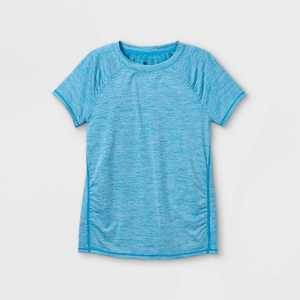 Girls' Quick Dry UPF 50+ Short Sleeve T-Shirt - All in Motion