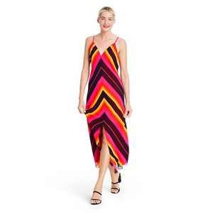 Chevron Sleeveless Slip Dress - Christopher John Rogers for Target Pink